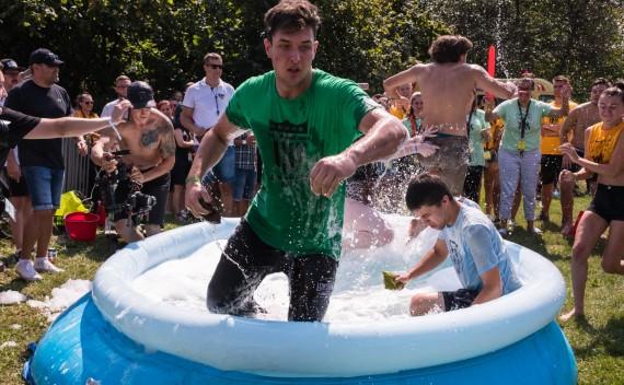 Sports Day in the Freshmen Camp