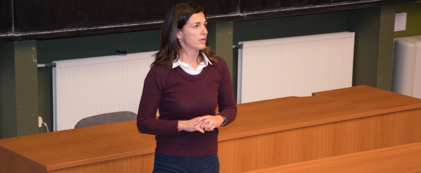 Varga Judit igazságügyi miniszter előadássorozata